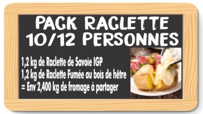 Pack Fromage à Raclette 10/12 personnes